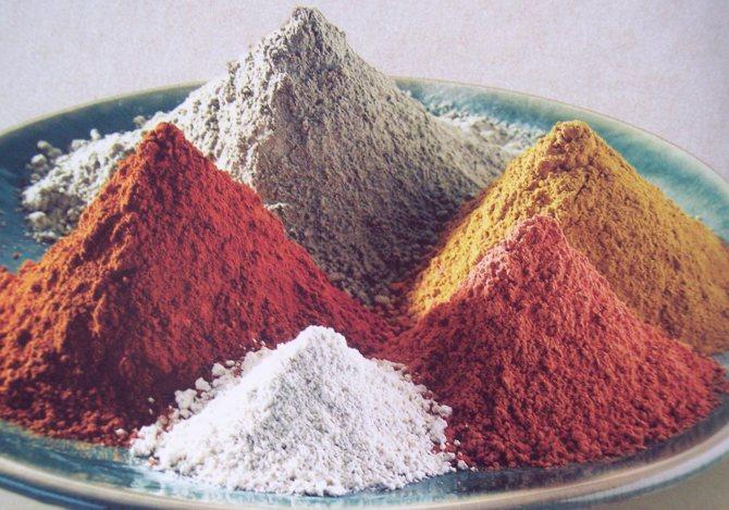 разнообразие глины